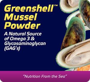 New Zealand Greenshell™ Mussel Powder